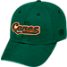 Front view of Top of the World Miami Hurricanes College Heritage Park Adjustable Back Hat in Team Colors