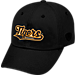 Front view of Top of the World Missouri Tigers College Heritage Park Adjustable Back Hat in Team Colors