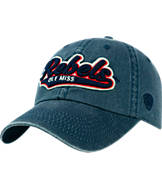 Top of the World Mississippi Rebels College Heritage Park Adjustable Back Hat
