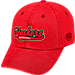Front view of Top of the World Nebraska Cornhuskers College Heritage Park Adjustable Back Hat in Team Colors