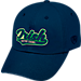 Front view of Top of the World Notre Dame Fighting Irish College Heritage Park Adjustable Back Hat in Team Colors