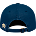 Back view of Top of the World Notre Dame Fighting Irish College Heritage Park Adjustable Back Hat in Team Colors