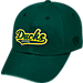 Front view of Top of the World Oregon Ducks College Heritage Park Adjustable Back Hat in Team Colors