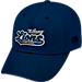 Front view of Top of the World Penn State Nittany Lions College Heritage Park Adjustable Back Hat in Team Colors