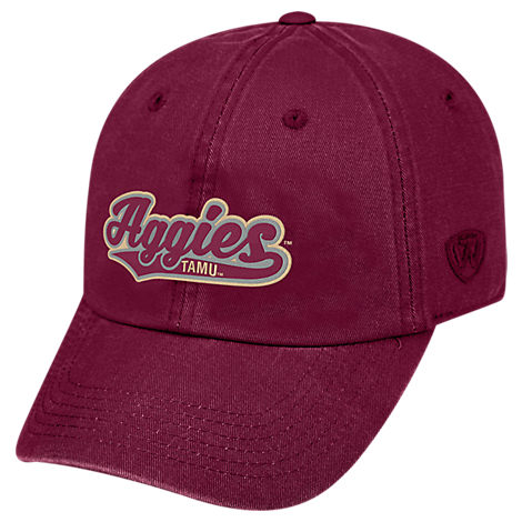 Top of the World Texas A&M Aggies College Heritage Park Adjustable Back Hat