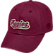 Front view of Top of the World Texas A&M Aggies College Heritage Park Adjustable Back Hat in Team Colors