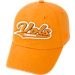 Front view of Top of the World Tennessee Volunteers College Heritage Park Adjustable Back Hat in Team Colors