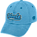 Front view of Top of the World North Carolina Tar Heels College Heritage Park Adjustable Back Hat in Team Colors