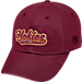 Front view of Top of the World Virginia Tech Hokies College Heritage Park Adjustable Back Hat in Team Colors