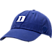Front view of Top of the World Duke Blue Devils College Classic Paul Hat in Team Colors