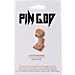 Back view of Pin God Champions Pin in Gold