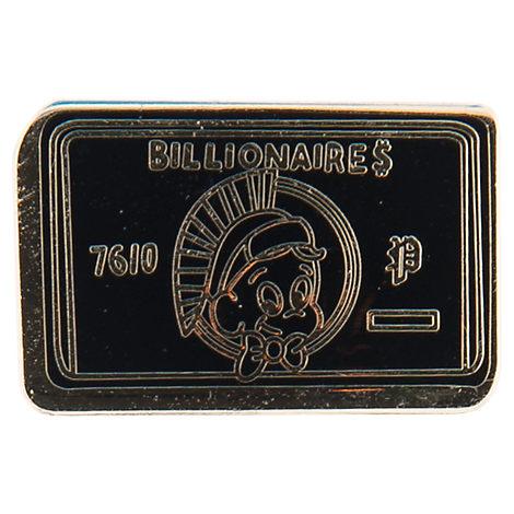 Pin God Billionaires Card Enamel Pin