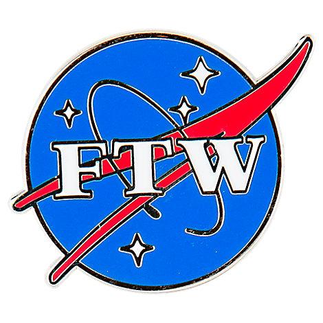 Pin God FTW Enamel Pin