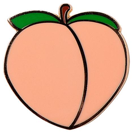Pin God The Peachy Peach Pin