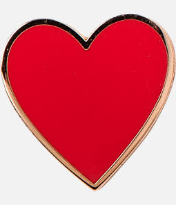 Pin God The Heart Pin Product Image