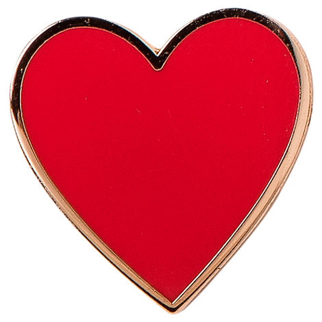 Pin God The Heart Pin