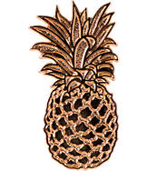 Pin God Pineapple Enamel Pin