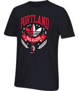 Men's adidas Originals Portland Trail Blazers NBA Distinction T-Shirt