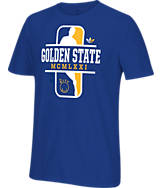 Men's adidas Originals Golden State Warriors NBA Dribbler T-Shirt