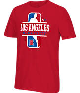 Men's adidas Originals Los Angeles Clippers NBA Dribbler T-Shirt