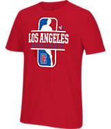 Men's adidas Originals Los Angeles Clippers NBA Dribbler T-Shirt