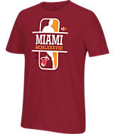 Men's adidas Originals Miami Heat NBA Dribbler T-Shirt