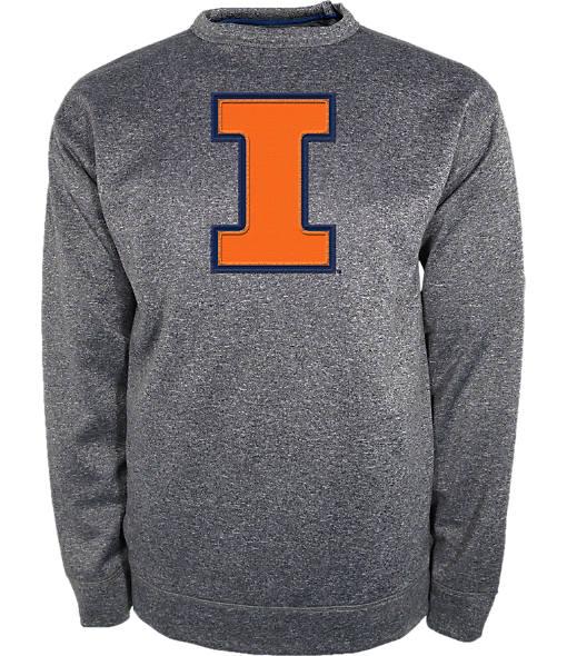 Men's Knights Apparel Illinois Fighting Illini College Crew Sweatshirt