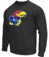 Men's Stadium Kansas Jayhawks College Crew Sweatshirt