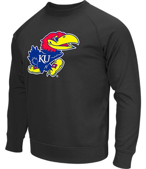 Men's Stadium Kansas Jayhawks College Crew Sweatshirt