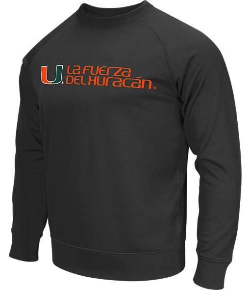 Men's Stadium Miami Hurricanes College Crew Sweatshirt