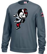 Men's J. America Ohio State Buckeyes College Crew Sweatshirt