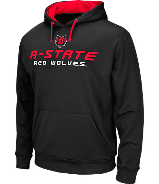 Men's Stadium Arkansas State Red Wolves College Pullover Hoodie