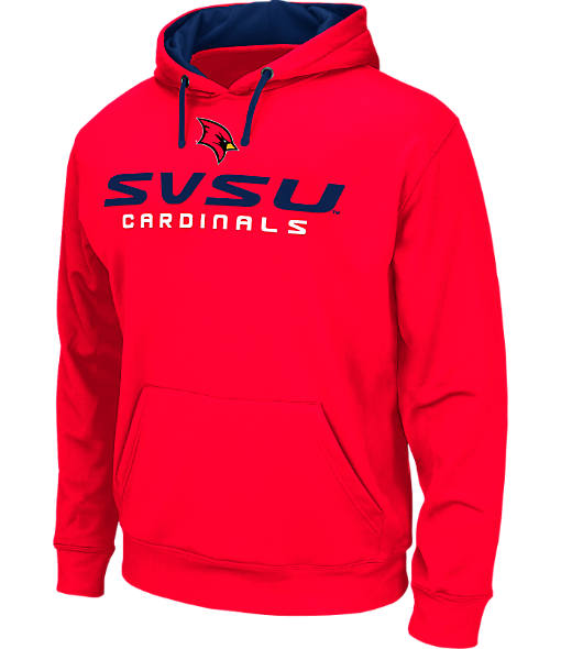 Men's Stadium Saginaw Valley State Cardinals College Pullover Hoodie