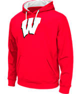 Men's Stadium Wisconsin Badgers College Pullover Hoodie
