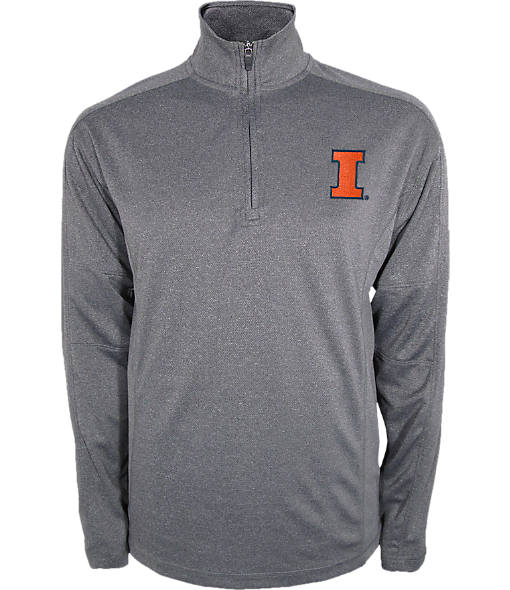Men's Illinois Fighting Illini College Quarter Zip Sweatshirt