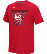 Men's adidas Atlanta Hawks NBA CL Net Web T-Shirt