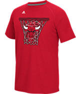 Men's adidas Chicago Bulls NBA CL Net Web T-Shirt