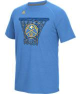 Men's adidas Denver Nuggets NBA CL Net Web T-Shirt