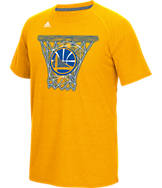 Men's adidas Golden State Warriors NBA CL Net Web T-Shirt
