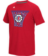 Men's adidas Los Angeles Clippers NBA CL Net Web T-Shirt