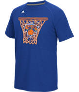 Men's adidas New York Knicks NBA CL Net Web T-Shirt