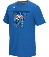 Men's adidas Oklahoma City Thunder NBA CL Net Web T-Shirt