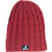 Front view of Women's Zephyr Alabama Crimson Tide College Posh Knit Slouch Beanie in Team Colors