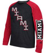 Men's adidas Miami Ohio Redhawks College On The Line Crew Sweatshirt