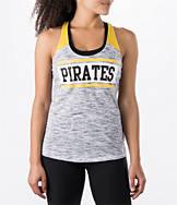 Women's New Era Pittsburgh Pirates MLB Space Dye Tank