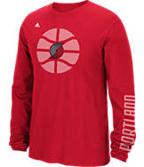 Men's adidas Portland Trail Blazers NBA Cager T-Shirt