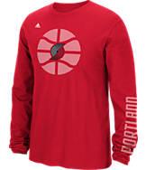 Men's adidas Portland Trail Blazers NBA Cager T-Shirt