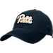 Front view of Top of the World Pitt Panthers NCAA Script Adjustable Strapback Hat in Navy