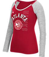 Women's adidas Atlanta Hawks NBA Team Liquid Long Sleeve Shirt