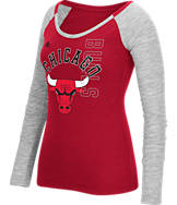 Women's adidas Chicago Bulls NBA Team Liquid Long Sleeve Shirt